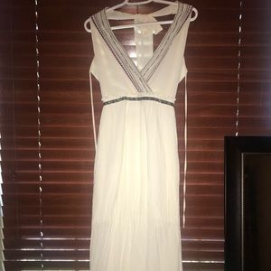 Altar'd state backless dress, size small